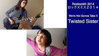 Audrey & Kate Play ROCKSMITH #463 - We're Not Gonna Take It - Twisted Sister ロックスミス