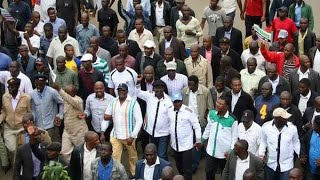 Cord supporters storm IEBC offices - VIDEO