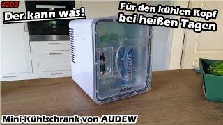 Ich teste... | Die Abkühlung im Sommer! | 12 Volt Mini-Kühlschrank von Audew | Mr. Moto |