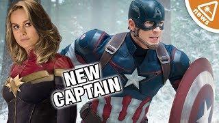 Will Captain Marvel Be the New Captain America? (Nerdist News w/ Jessica Chobot)