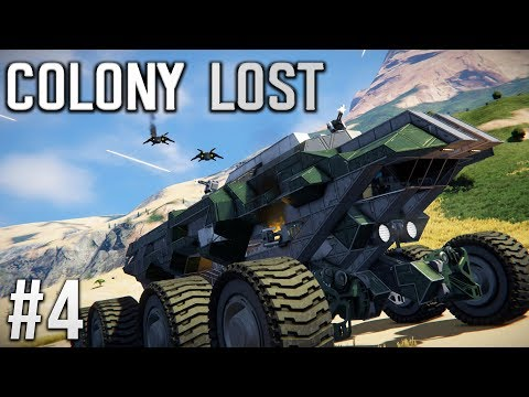 Space Engineers - Colony LOST! - Ep #4 - OPERATION: Salvage!