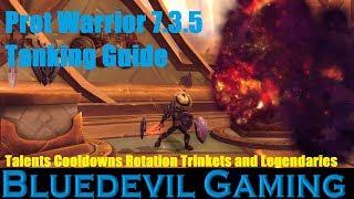 Legion - Protection Warrior | Full Tank Guide 7 3 5 [Basics