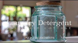 2 Ingredient Laundry Detergent - Zero Waste - Natural - Economical