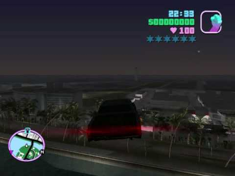 Flying Car GTA Vice City