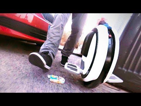 El Vehiculo Mas Simple | Una Rueda a Motor - Monociclo Electrico | Xiaomi Ninebot One Review