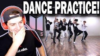 BTS (방탄소년단) 'MIC Drop' Dance Practice REACTION! (MAMA dance break ver.)