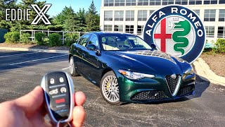 I Spent A Week With A 2020 Alfa Romeo Giulia | Heres Why Id Buy One!