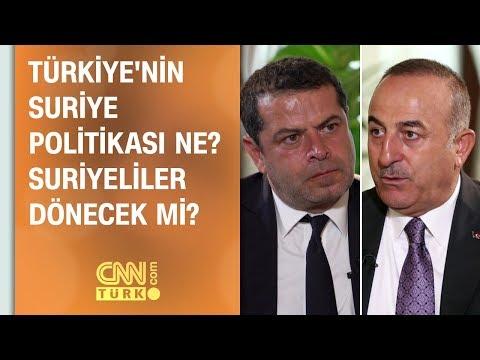 Türkiye'nin Suriye politikası ne? Suriyeliler dönecek mi? Bakan Çavuşoğlu cevapladı