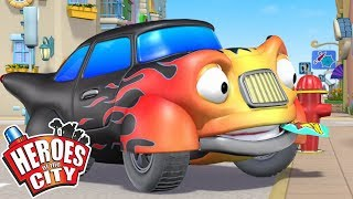 Heroes of the City - Walking The Prank | Cartoons For Kids | Vehicles For Kids | Car Cartoons