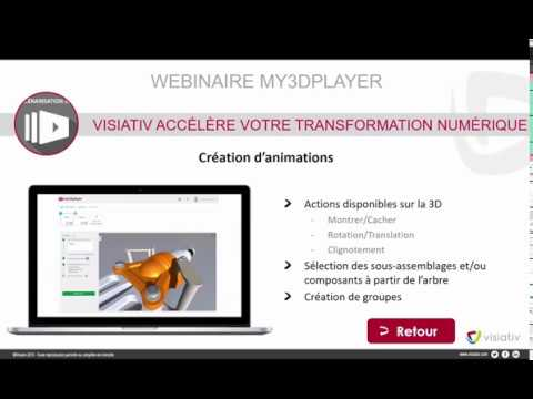 Webinaire my3Dplayer 2019