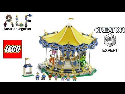 Vidéo LEGO Creator 10257 : Le manège