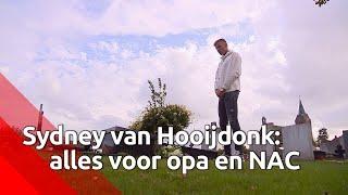 Spits Sydney van Hooijdonk geeft alles voor zijn overleden opa en voor NAC Breda.