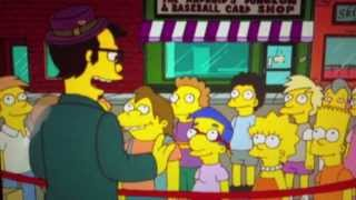 The Simpsons - what's new pussycat?