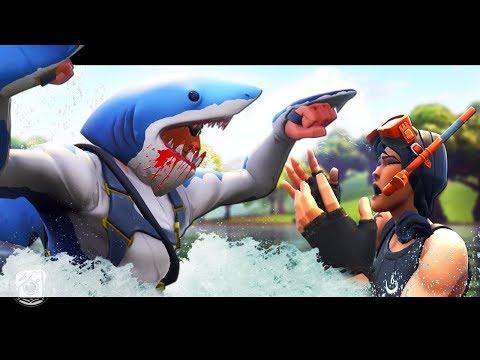 CHOMP'S SHARK STORY - A Fortnite Short Film
