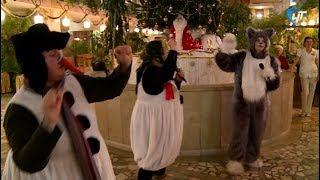 Фольклорной театр «Круговина» провел новогодний утренник в главной детской клинике региона