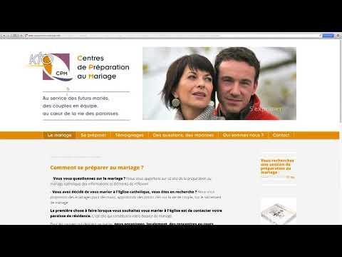 Centres de préparation au mariage