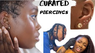 CURATED EAR PIERCINGS | HEALING + TIPS