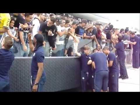 Treino do Corinthian-Casuals na Arena Corinthians