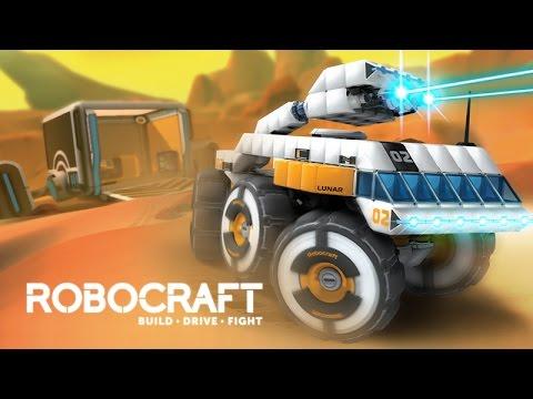 Robocraft - Води, Строй, Стреляй! Чудеса инженерии [Gameplay Full HD]