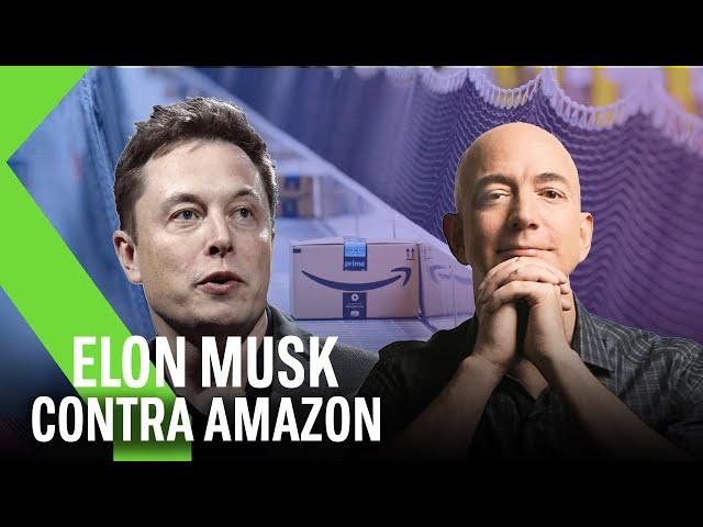 """Elon Musk sobre el imperio de Jeff Bezzos: """"Es hora de ROMPER AMAZON"""""""