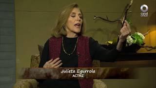 Conversando con Cristina Pacheco - Julieta Egurrola