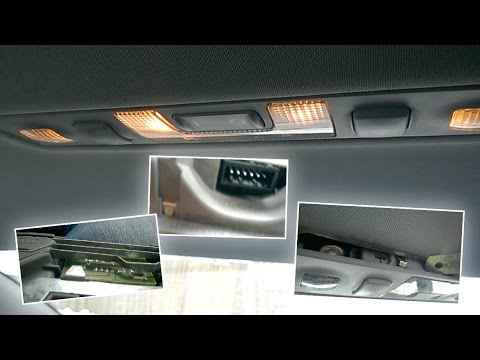 Плафон освещения салона Ауди А6 С5 не работает. Что делать если пропала подсветка салона пассажиров