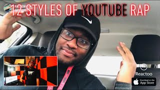 Crypt and Quadeca 12 Styles of YOUTUBE RAP!!! Reaction!!!!