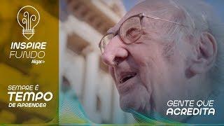 Aos 90 anos Sr Augusto decidiu que queria ser um Arquiteto!