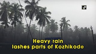 Heavy rain lashes parts of Kozhikode - Download this Video in MP3, M4A, WEBM, MP4, 3GP
