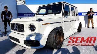 SEMA show 2019 Highlights - Amazing cars and trucks - Las Vegas Day 1