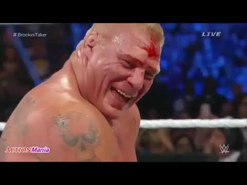 Download Brock Lesnar Vs The Undertaker Full Match SummerSlam 720p HD   77 HD Mp4 3GP Video and MP3