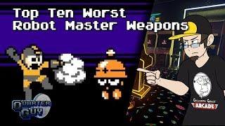 Top Ten Worst Robot Master Weapons - The Quarter Guy