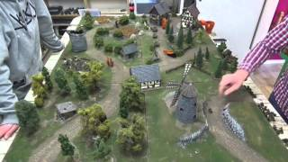 Battlereport: Bolt Action US Army vs. German Army 1000pt.