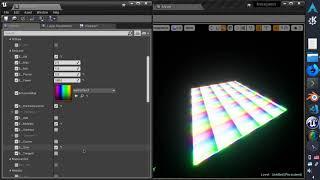 [UE4] Having fun with parametric emmisive material