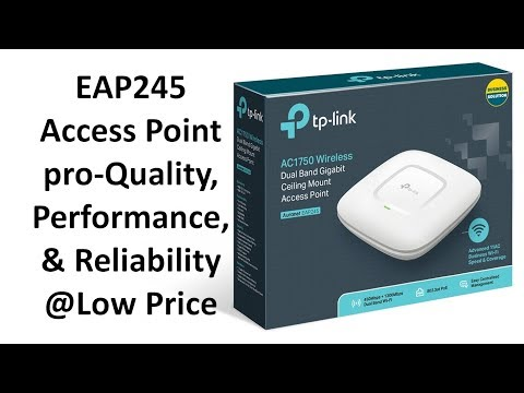 TP-Link EAP245 Access Point, Dual-Band AC1750
