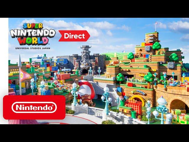 Создатель «Марио» приглашает всех в парк хайтек-развлечений Super Nintendo World