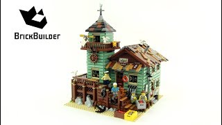 Lego Ideas 21310 Old Fishing Store – Lego Speed Build