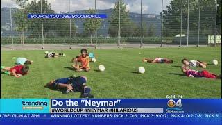 """Trending: Kids Do The """"Neymar"""""""