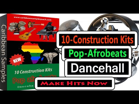10 Construction Kits/Afro-beats /Wav Format 24 Bit