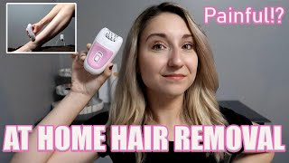 INSTANT RESULTS! Remington Face & Body Epilator under $50.00, FULL Review & Demo