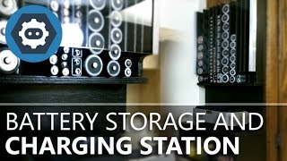 Battery Storage And Charging Station