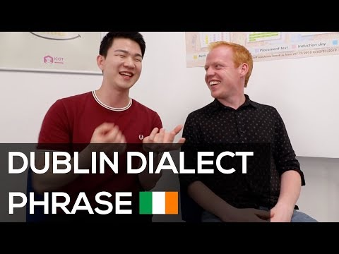 How to Speak Dublin Dialect Phrases with Dublin Accent [Korean ...