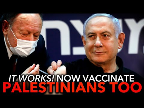 Israel Proves the COVID Vaccine Works, But They're Excluding Palestinians