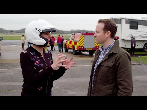Tamsin Greig Talks Through Her Lap | Top Gear