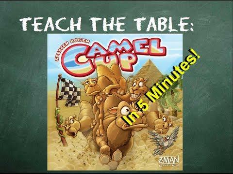 How to play Camel Up - Teach The Table