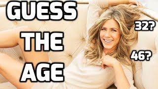 Guess The Celebrity Age - REALLY FUN WITH FRIENDS - PART 1