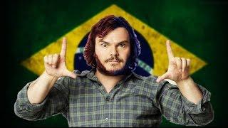 """Jack Black canta """"Roça Roça"""" de MC Brinquedo - MC Jack Preto"""