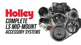 Holley (20-190): Premium Mid-Mount LS/LS7 Complete Accessory System