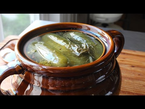 Homemade Dill Pickles – How to Make Naturally Fermented Pickles