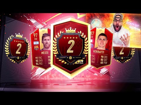 OMG 2ND IN THE WORLD TOP 100 FUT CHAMPIONS REWARDS! FIFA 19 Ultimate Team